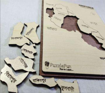 Dinajpur Zilla Map Puzzle