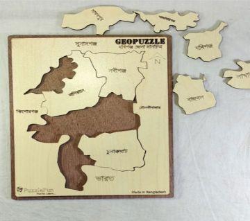 Habigonj Zilla Map