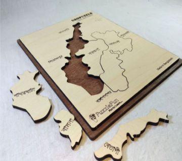 Barguna Zilla Map