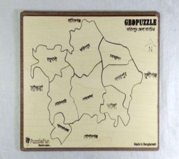 Faridpur Zilla Map