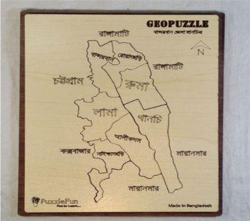 Bandorban Zilla Map
