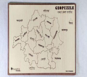 Bogura Zilla Map