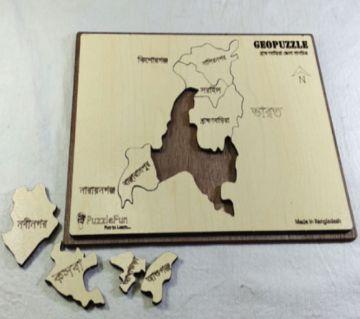 B.Baria Zilla Map
