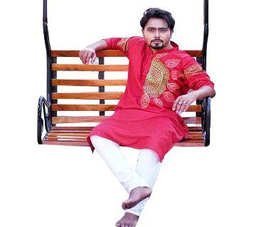 Dhupian Silk Punjabi For Men