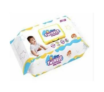 Twinkle Baby Wipes Pouch 120 pcs