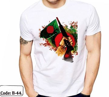 Proud Bangladesh  print t-shirt for Man