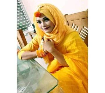 Soft Joom Cotton Monipuri Saree For Women Yellow