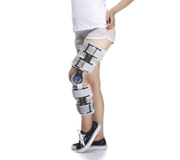 Adjustable Adult Orthosis Knee Support Brace for Stroke Patient