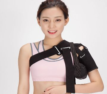 Shoulder arm sling support orthosis brace with Handbag for fracture rehabilitation