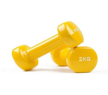 Vinyl Dumbbell Single Pcs  1kg & 2kg
