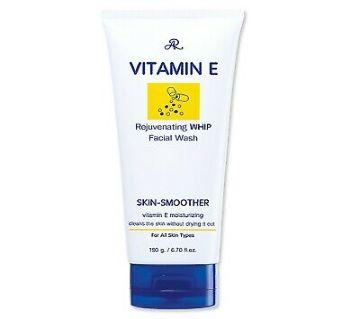 AR Vitamin E Rejuvenating Whip Facial wash 190gm THAILAND