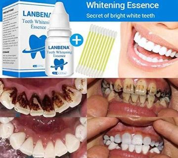 Lanbena Teeth Whitening Essence - 0.35 fl oz 10ml Liquid BD