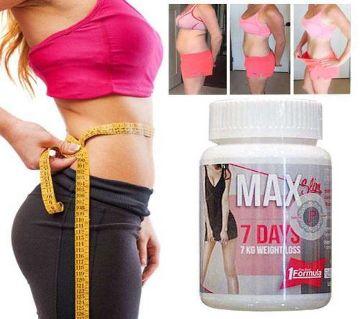 MAX SLIM 7 DAYS 7 KG WEIGHT LOSS CAPSULES 30PCS Thailan