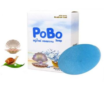 POBO MINERAL WATER COLLAGEN SOAP 60G Korea