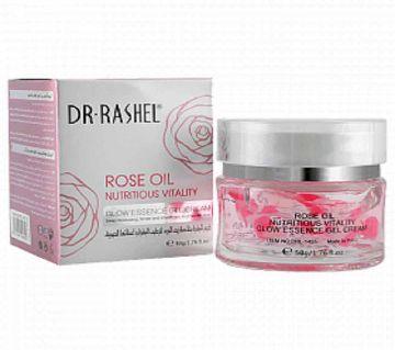Dr Rashel Rose Oil Nutritious Vitality Glow Essence Gel Cream 50g Country Origin P.R.C