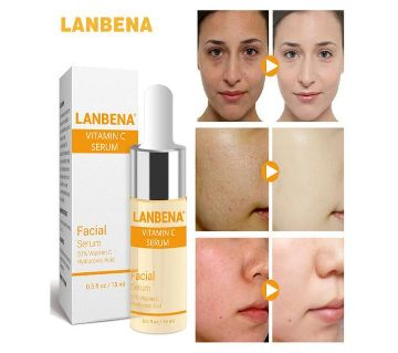 LANBENA Vitamin C Serum Remove Freckle Fade Dark Spot China-15ml