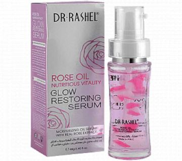 Dr.Rashel Rose Oil Nutritious Vitality Glow Restoring Face Serum 40Ml Country Origin P.R.C