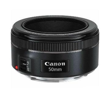 Canon EF 50mm F-1.8 STM Lens - Black
