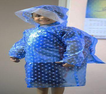 Baby Transparent Waterproof Raincoat For Boys & Girls Rainwear Kids Raincoat