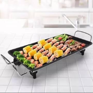 Electric Bbq Grill/Teppanyaki/Tough Non-Stick Surface Hot Plate