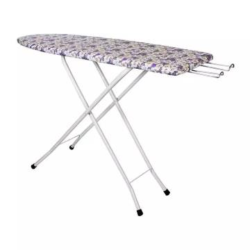 Folding Ironing Board Iron Table with PRESS Stand-XL