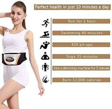 Vibro Vibration Heating Slimming Shape Massager Belt