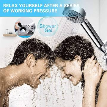 Multifunctional Faucet Killer Zone Double Sided Water Shower Head