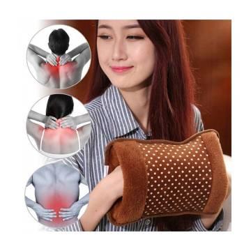 Electric Hot Water Bag Pain Remover-Multi colour Multi design Premium Quality Velvet Fabric by CS