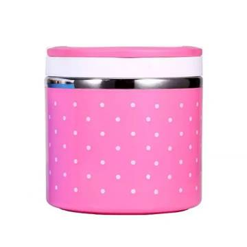 Steel 1 Layer Lunch Box