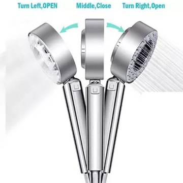 Killerzone Double Sided Water Shower Head Multifunctional Faucet High Pressure Shower Head