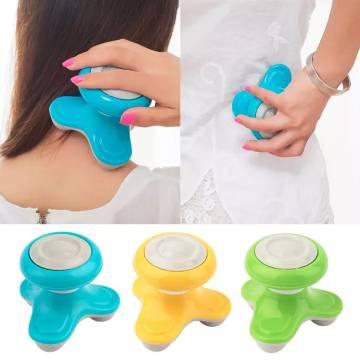 Apple Electric Mini Handheld Vibrating Body Massager