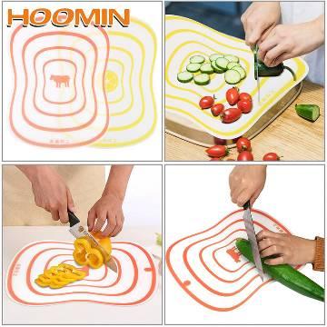 Chopping Board Non-slip kitchen Chopper Board 1pcs Plastic