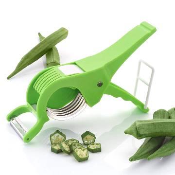 Vegetable/ Fruit Multi Cutter and Peeler-Multicolor