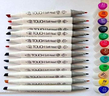Set of 12 Superior Touch Copic twin art sketch double headed Art marker