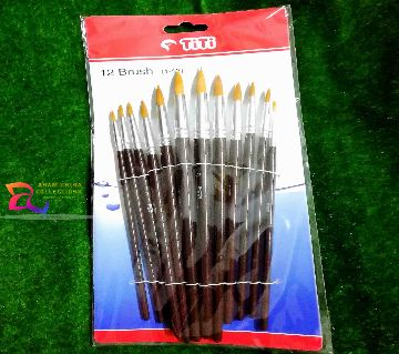 TiTi Artist 6 Flat Brush (1-12)