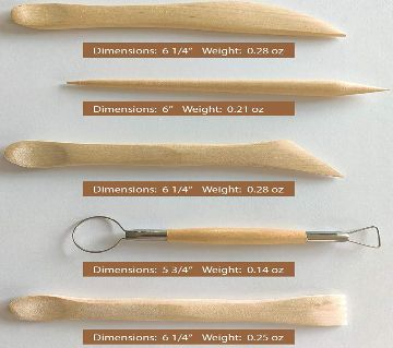 Clay Tools Kit (5 Pack)