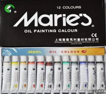 Maries Fine Oil Colours Sets - Set of (12)