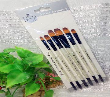 KeepSmiling Artist Brushes set 6pcs 6129Z