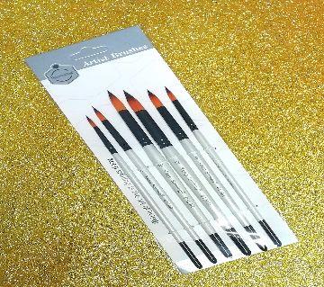 KeepSmiling Artist Brushes set 6pcs 6129R