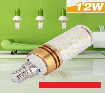 LED Corn Bulbs,Candle Bulbs, 360Degree E14 12W Color-Red