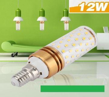 LED Corn Bulbs,Candle Bulbs, 360Degree E14 12W Color- Green