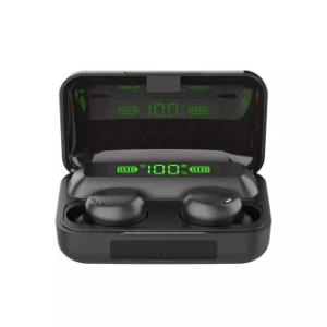 F9 5 TWS Wireless Stereo Bluetooth headset In Earbuds Sport Bluetooth Earphone with 2200 mah power Bank
