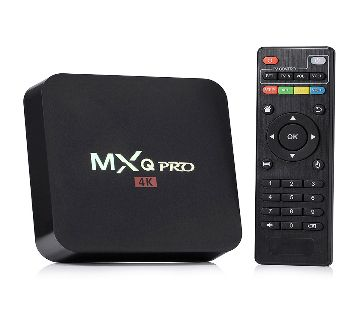 MXQ PRO 4K Android Smart TV Box - 1GB/8GB, Android 9.0