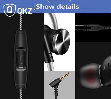 QKZ DM10 Zinc Alloy HiFi Earphone In Ear Earphones
