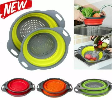 Foldable Silicone Fruits Vegetable Cleaning Baskets