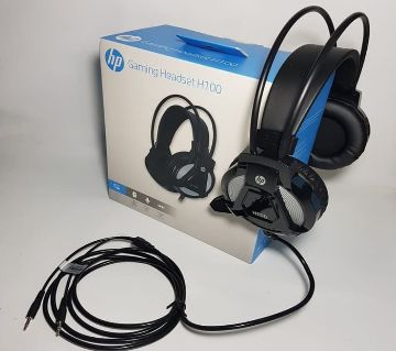 Hp H100 Wired Gaming Headset with USB Cable