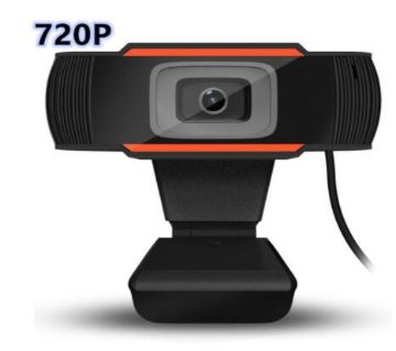 HD Webcam 720P USB Camera Rotatable Video Recording Web Camera With Microphone For PC Computer