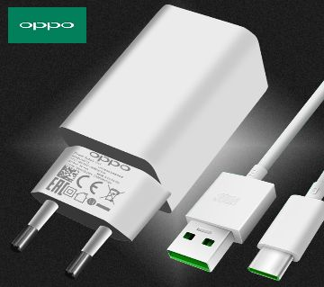 OPPO VOOC New Fast Flash Charger With USB Cable - White