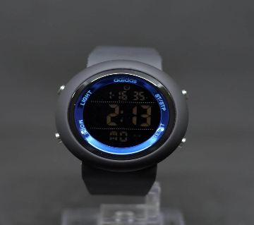 Mens Digital Wrist Watch-Black