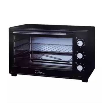National Electric Oven - 23 Liter - Black